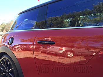 Black Door Handle Covers F56 - Way Motor Works