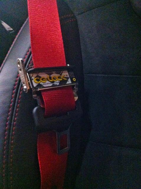 CG Lock installed in GP2
