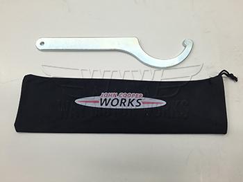 F56 JCW Pro Suspension coilover suspension adjustment wrench
