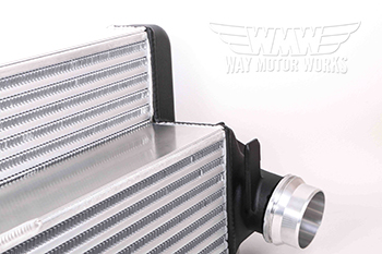 Pass End tank Forge F56 Cooper S intercooler