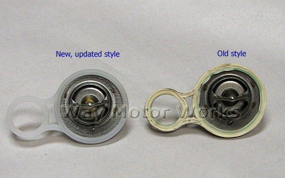 Thermostatswhite on 2003 Mini Cooper Thermostat