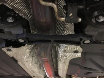 Small Chassis Bones Brace Installed on F56 MINI Cooper S