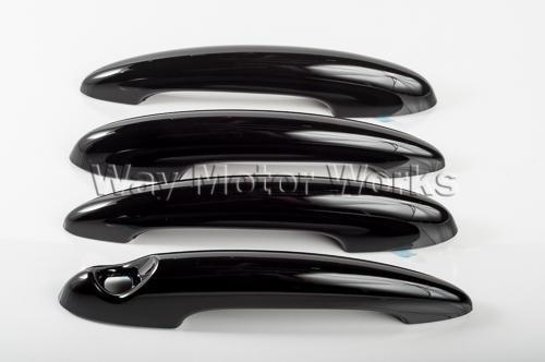 R60 Countryman Black Door Handle Cover Set 4pc - Way Motor Works
