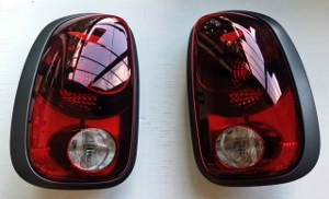 Black Out Tail Lights Countryman R60 Way Motor Works