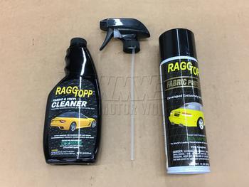 RaggTopp Fabric/Vinyl Cleaner/Protector Kit