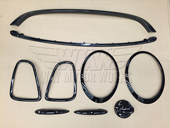 Wmw Complete Black Trim Kit R56 R57 R58 R59 Way Motor Works