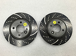 EBC Dimpled and Slotted Brake Rotors R50 R52 R53