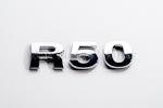 R50 Chrome Letter Badge