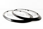 Black Out Headlight Trim Rings R55 R56 R57 R58 R59