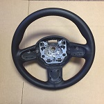 Custom Leather Steering Wheel R55 R56 R57 R58 R59 R60 R61