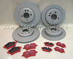 EBC- Red Brake Package R55 R56 R57 R58 R59 Cooper S