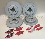 EBC- Red Brake Package R50 R52 R53