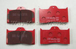 EBC TSW / Detroit Tuned BBK Red Stuff Front Brake Pads