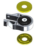 Focus ST Powerflex Lower Engine Mount Insert