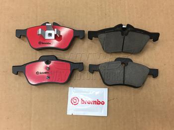 Brembo Front Ceramic Brake Pads Set /& Sensor for Mini Cooper R55 R56 2009-2010
